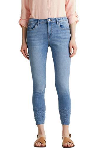Esprit Damen 040EE1B350 Jeans, 902/BLUE MEDIUM WASH, 27/26