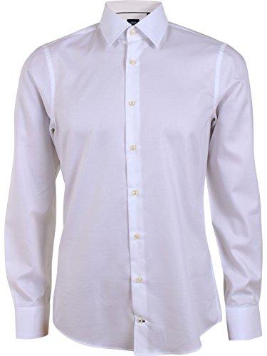 JOOP! Herren Business Hemd Martello Jsh - Modern Fit, Größe:44, Farbe:Weiß (100)