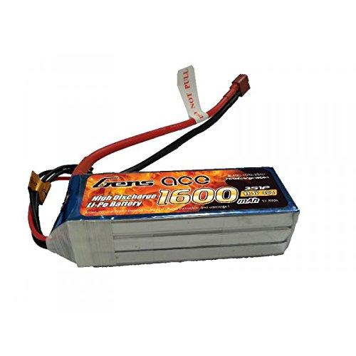 Gène Ace 1600 mAh 11,1 V 40 C 3S1P Lipo Pack Batterie pour modélisme RC Car Heli Bâche Boat Truck FPV Voiture hélicoptère Avion Toys