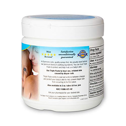 Image of Triple Paste Medicated Ointment for Diaper Rash, 16-Ounce