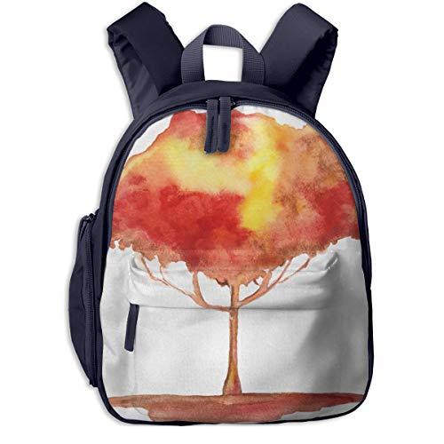 Kinderrucksack Kleinkind Jungen Mädchen Kindergartentasche Baumleben Interpretation Gradient Mystic Backpack Schultasche Rucksack