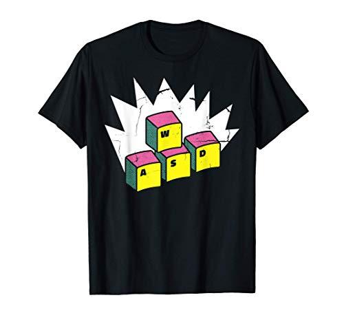 WASD Gaming Keyboard Programmer Computer Scientist PC Gamer T-Shirt