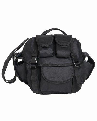 Mil-Tec Umhängetasche \US Butt Pack Gen II\ schwarz, Volumen: 7 l