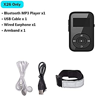 Sports MP3 Player Bluetooth with Clip FM Radio Armband Portable Mini MP 3 Music Play for Running Sport mp3-player