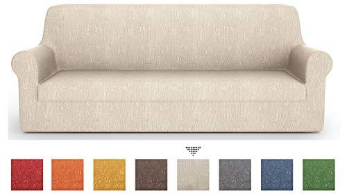 PETTI Artigiani Italiani Sofa-Überwürfe, Creme, 4 Sitzer(170 bis 280 cm)