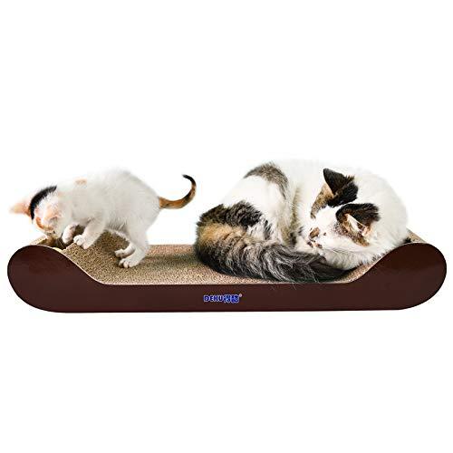 Tuzi Qiuge Cama de Gato de sofá para Gato, sofá de Bola de Campana Cat de Papel Corrugado Cat Scratch Board Glaw Juguete de Pulido