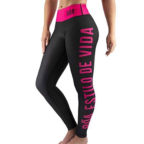 Dames Leggings Bóa Estilo de Vida - Pink XL