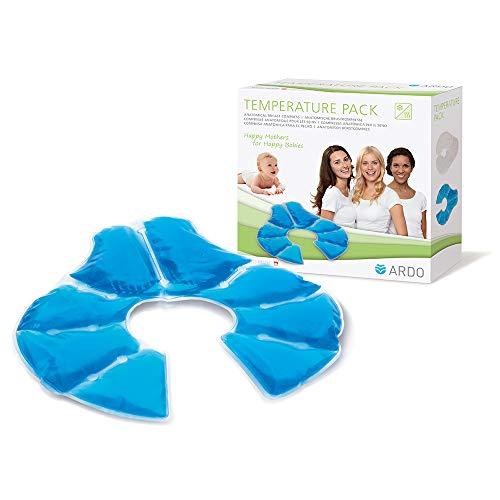Ardo Temperature Pack – Anatomische Kalt-Warm-Kompresse für die Brust – Hilft bei Milchstau, gespannten Brüsten & beginnenden Brustentzündungen – 1 Pack