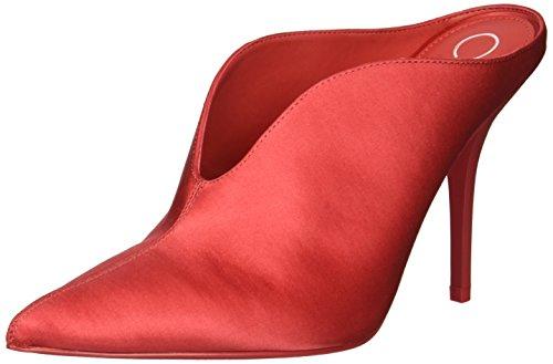 Calvin Klein Women's Mallie Pump, Rose Quartz Satin, 9 M US