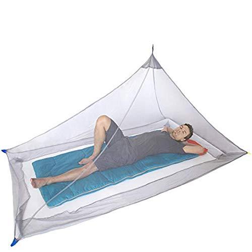 YSYDE Muggennet voor één kampeerbed - 250 gaten per vierkante inch Compact en lichtgewicht vouwnet voor buiten dat u beschermt tegen ziekgemaakte muggen of insecten