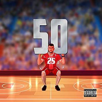 50 on 'em