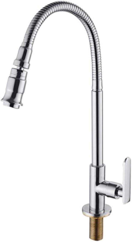 Taps Mixer?Swivel?Faucet Sink Mop Pool Faucet Single Cold Balcony Laundry Pool Faucet Kitchen Faucet Universal redary Basin Faucet