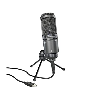 Audio-Technica AT2020USB+ Microphone - Black