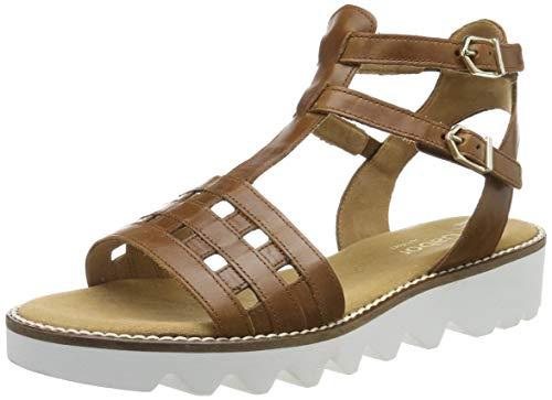 Gabor Shoes Damen Comfort Sport Riemchensandalen, Braun (Peanut 54), 35.5 EU