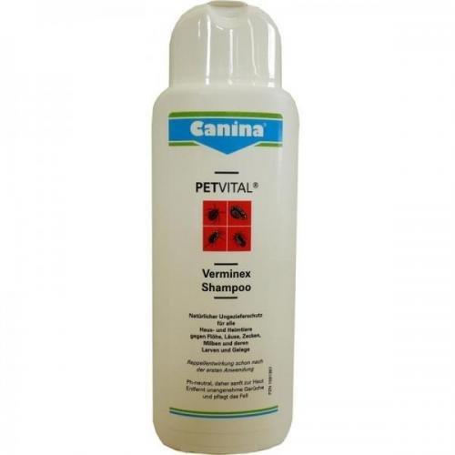 Canina Pharma Verminex Shampoo 250 ml, Hundepflege, Tierpflege