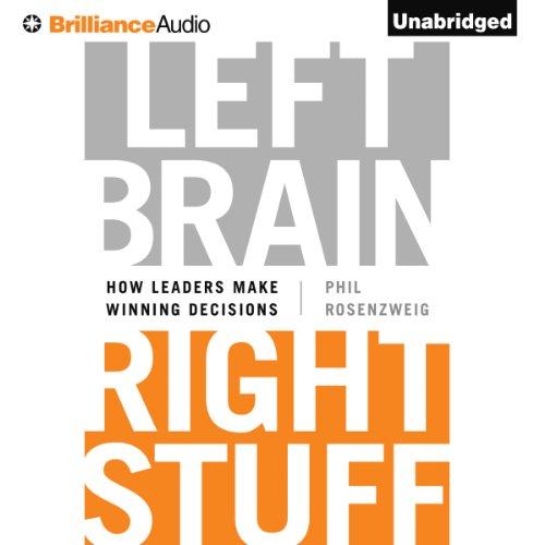 Left Brain, Right Stuff audiobook cover art