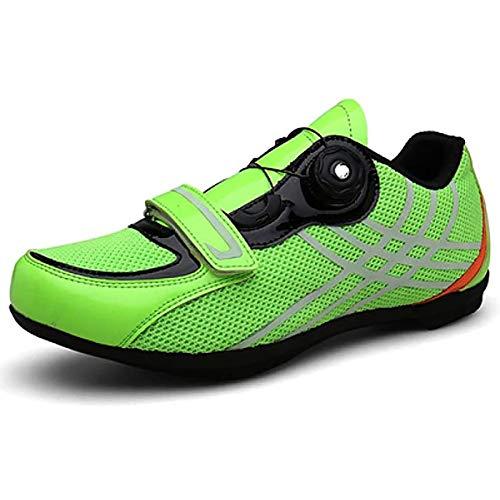 BHHT Zapatillas De Hombre MTB Zapatillas De Ciclismo Zapatillas De Bicicleta De...
