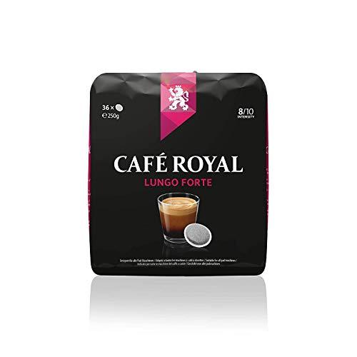 Café Royal Lungo Forte 360 kompatible Kaffeepads für Senseo, Intensität 8/10, 10er Pack (10 x 36 Kaffeepads)