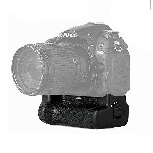 Pixel Vertax D11 apretón de la batería para Nikon D7000 DSLR de Trabajo de la cámara con una batería de EN-EL15 o Seis baterías de AA / LR6 (Sustitución de Nikon MB-D11)