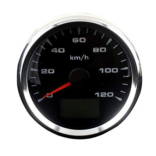 No-branded Odometer Spur 85mm 0-120km / h GPS-Geschwindigkeit Kilometerzähler Kilometerzähler Gauges 8 Farben GPS Speedometers Geschwindigkeitsanzeiger ZHQHYQHHX