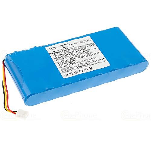 cellePhone Akku Li-Ion kompatibel mit Moneual ME770 MR6500 MR6800 MR7700 (Ersatz für 12J003633) - 2800 mAh