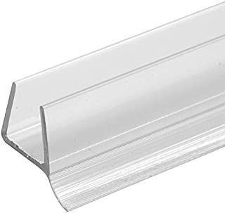 Prime-Line M 6264 Glass Door Bottom Seal, 3/8 Inch, Clear, Pack of 1