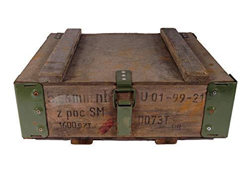 NATO Holzkiste Transportkiste USED 40,5 x 35,5 x 16,5 Holztruhe