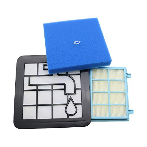 WuYan Kit de filtro de espuma de motor lavable para Philips Power Pro Compact FC9331/09 FC9332/09 FC8010/01 Partes de aspirador FC8010