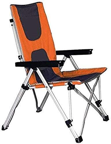 HDZW Sillas reclinables Ligeras Silla para Acampar al Aire Libre Silla Plegable para Exteriores Director de Festivales Silla para tumbonas de Pesca