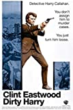Dirty Harry - Clint Eastwood Poster Drucken (60,96 x 91,44