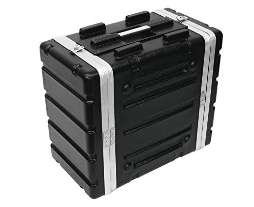 Roadinger 30106028 KR-19 DD Kunststoff-Rack (6HE) schwarz