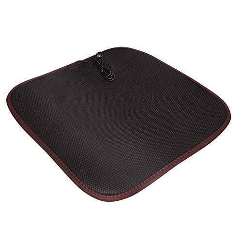 JUST Sitzheizung Auto Auflage,Sitzbezügesets Auto Auflage USB Set 12V,Universal Regulierbare Zuhause und Büro Heizauflage