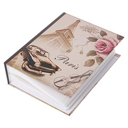 ruiruiNIE 100 Fotos Bolsillos Álbum de Fotos Intersticial Estuche para Libro Memoria para niños Regalo - 03#