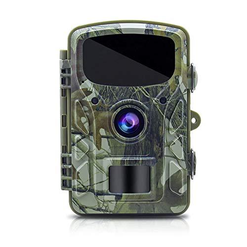 WYYHAA Wildkamera Fotofalle/ 16MP 1080P HD Tier-Kamera Mit Nachtsicht-Erkennung Bewegung Aktivierte Tier-Jagd-Kamera Mit 0,5 S Triggergeschwindigkeit 2.4