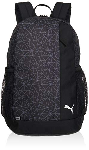 PUMA Beta Backpack Mochilla  Unisex Adulto  Black AOP  OSFA