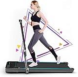 Elettrico Jogging Tapis Roulant, Domestico Piatto Passeggio Tappetino, Portatile...