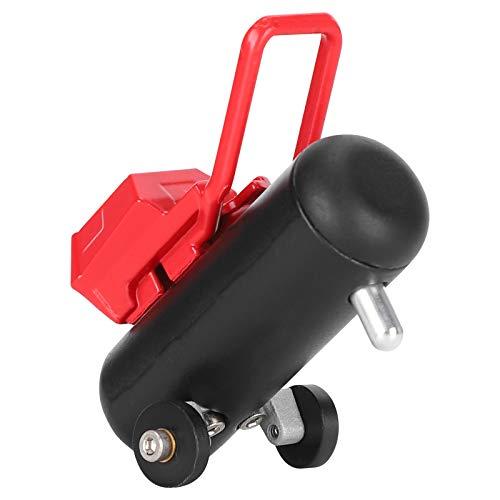 Zuverlässige Hochsimulations-Diy-RC-Luftpumpe, feste tragbare RC-Simulationsluftpumpe, Allzweck für den professionellen Einsatz von RC-Car-RC-Automodellen(black)