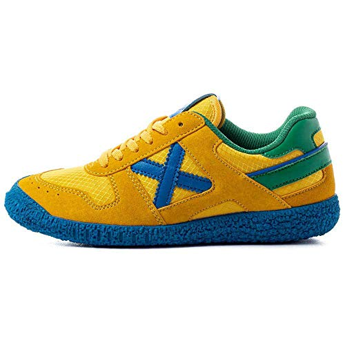 Munich - Zapatillas Munich Mini Goal 1470-8126470 - Amarillo, 37