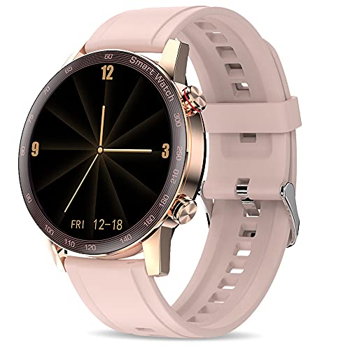 Smart Watch for Women,suinsist smartwatch for Android and iOS Phones (Receive/Make Calls,10 Sport...