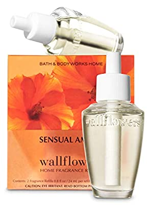 Bath and Body Works Sensual Amber Signature Collection Wallflowers Home Fragrance Refills
