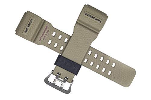 Casio Bracciale della G Shock mudmaster Orologio Bracciale per GG 1000Khaki con cinturino nero