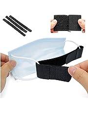 3 PCS Mask Holder Mask Ear Strap Hook Mask Strap Extender, Masks Extension Hook for Anti-Slip Ear Protectors for Masks, Black