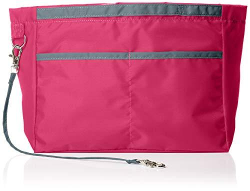 [カバンの中身] リバーシブル バッグインバッグ リルビー ラージ ピンク(ピンク/グレー)