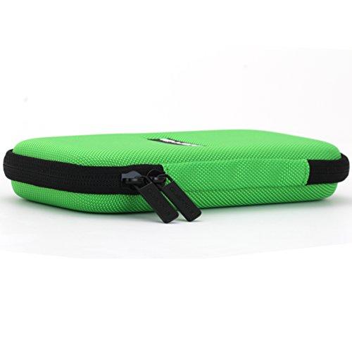 Guerrilla Hard Travel Case for TI-30X llS, TI BA ll Plus, TI-34 Multi View, TI-36X Pro, TI BA ll Plus Professional, and TI-30XS multi view Calculators, Green Photo #3