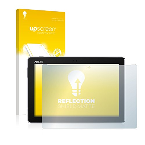 upscreen Entspiegelungs-Schutzfolie kompatibel mit Asus ZenPad 10 Z301ML – Anti-Reflex Bildschirmschutz-Folie Matt