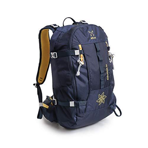ALTUS - Mochila Técnica Daypack Edelweis 30L, Azul Marino, 1,03 Kg | Trekking, Excursiones, Travesías de Esquí | Montañismo