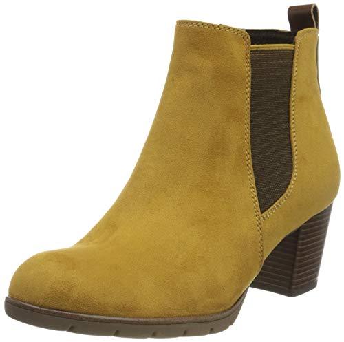 MARCO TOZZI Damen 2-2-25355-35 Stiefelette, Mustard Comb, 40 EU
