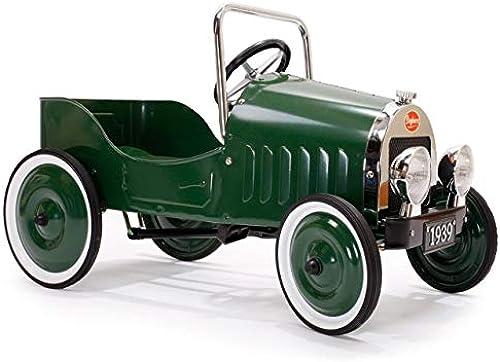 Baghera1939 - Tretauto Klassik, Grün, Metall, 80 x 42 x 50 cm, 3 - 5 Jahre