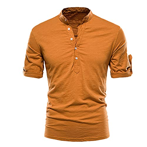 N\P Camiseta de manga corta para hombre con manga corta