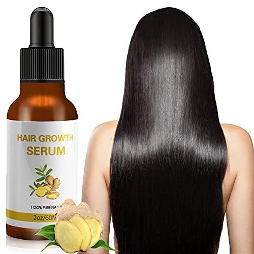 Thnkstaps Siero per la crescita dei capelli Serum Per Capelli Ricrescita Capelli Riduce la caduta dei capelli Trattamento per la crescita dei capelli siero anticaduta per le donne60 ML